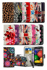 Sony Xperia M4 Aqua - Printed Pattern Creative Wallet Case Cover & Retractable