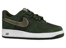 NEW MENS NIKE AIR FORCE 1 LOW BASKETBALL SHOES TRAINERS CARBON GREEN / MEDIUM OL