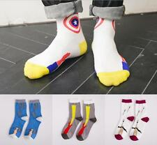 5pairs Lot Fashion Men 5 Patterns Color-block Long New Brand High Quality Socks
