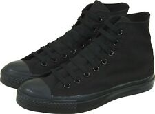 NEW UNISEX ADULT  CONVERSE ALL STAR CHUCK TAYLORS HI TOPS BLACK MONO RRP:$90