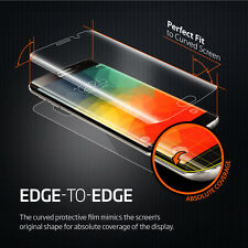 Galaxy S6 Edge/Edge Plus Screen Protector For Spigen® Full Curved Crystal Film