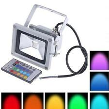 10W LED IP65 Flood Light Outdoor Garden Landscape Yard Lamp Warm/Cool White/RGB