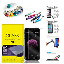 Genuine Premium Tempered Glass Screen Protector For iPhone 6 6S Plus 6C 5G 5S 4S