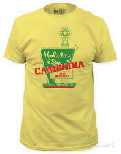 Dead Kennedys - Holiday in Cambodia (slim fit) T-Shirt Yellow New Shirt Tee