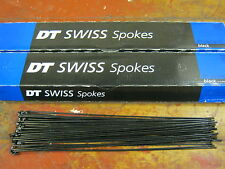 DT SWISS ALPINE III Black Spokes 2.34/1.8/2.0mm*Any Quantity**Custom Cut Length*
