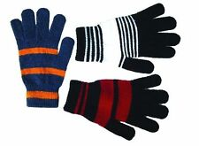 Ladies Mens Winter Thermal Warm Fashion Magic Soft Knitted Full Finger GLOVES UK
