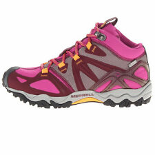 Merrell Womens Grassbow Mid Sports GORE-TEX Waterproof Trekking Hiking Boots
