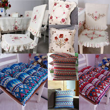 YAZI Soft Seat Pads Pillowcase Cushion Chair Back Cover Home Office Decoration