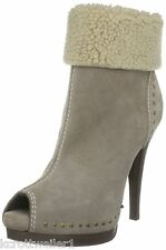 RRP £169 BNWB MISS SIXTY SIZE 5 6 6.5 7 7.5 8 NINA BEIGE SUEDE ANKLE BOOTS SHOES