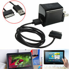 5V 2A Wall Charger USB Cable For Samsung Galaxy Tab 2 7'' 8'' 10.1'' Tablet Pad