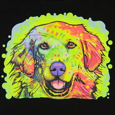 Kids Golden Retriever Dog T-Shirt Unisex Children Adult Cute Youth boys Neon