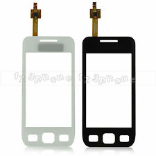 TOUCH SCREEN LENS GLASS DIGITIZER FOR SAMSUNG WAVE S5250 #WHITE & BLACK