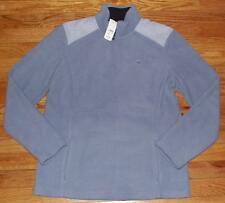 NEW NWT Brooks Brothers Womens Polar Fleece Pullover Jacket $69 Blue Gingham