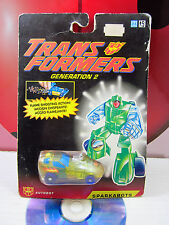 Transformers G2 SIZZLE SPARKABOTS Autobot Robot Action Figure 1993 Hasbro Takara