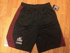 New Mens Lax World UMass Mesh Lacrosse Shorts