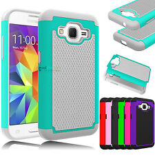 Case For Samsung Galaxy Core Prime Prevail LTE G3608 Hybrid Impact Rubber Cover