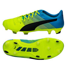 Puma evoPOWER 1.3 FG Leather Soccer Cleats Boot Football Futsal Shoes 103527-01