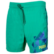 Puma Short Length Fun Swim Surf Shorts  mens Size