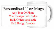 Personalised Printed Mug Cup Your Images Logo Or Text Photos Gift Present Kids