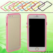 Silicone Bumper Cover Frame Rim Colorful Skin Mobile Case For Apple iPhone 6 6G