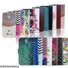 Credit Card PU Leather Wallet Pouch Slim Stand Soft Case Cover for ZTE phone