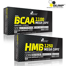 BCAA + HMB 60-180 Caps. Lean Muscle Growth Anabolic Anti-Catabolic Recovery
