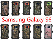 For Samsung Galaxy S6 Defender Case w/ Screen Protector & Holster Fit OtterBox