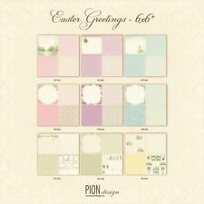 Pion Design Easter Greetings Collection - 6 x 6 Designs Choose from Drop Down
