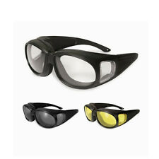 SSP Kachess Black Over Prescription Shooting Glasses Black w Clear, Smoke, Amber
