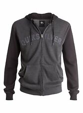 Quiksilver Ice Route Mens Zipped Hoody in Tarmac - On Sale Now