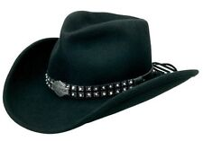 Harley Davidson Crushable  Cowboy Hat Shapeable Brim - HD-172 - Sizes S,M, L, XL