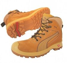 Puma Safety Nullarbor WHEAT Zip Sider Workboots Work Boots Shoes AUTH DEALER