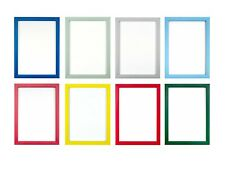 RAINBOW COLOUR RANGE PICTURE FRAME PHOTO FRAME POSTER FRAME RED BLUE GREEN A4