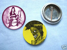 The Cramps-Set 2 Of 2  Badges