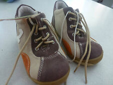 BNWT YOUNG BOYS SIZE 9 LEATHER SHOES BEIGE BROWN NEW