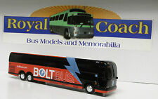 """Bolt Diecast Prevost X-3-45 8-1/2"""" Bus - Pad Printed in China   1:50 Scale"""