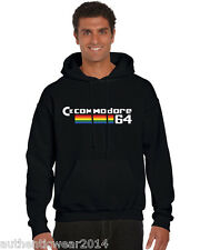 Commodore 64 retro Hoody, Vintage gaming PC, classic 1980's home computer HOODIE