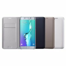 """Genuine Samsung Galaxy S6 Edge PLUS 5.7"""" Flip Wallet Cover Case with ID slot"""
