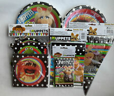 MUPPETS PARTY ITEMS- PLATES, LOOT BAGS, INVITES,NAPKINS, BUNTING, BANNERS