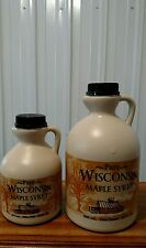 Pure Wisconsin Maple Syrup Quart and Pint