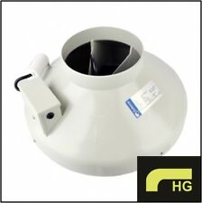 """Systemair Sileo 6 Inch RVK Fan - 6"""" 150mm A1 Ducting Extractor Fan"""