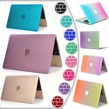Rubberized Hard Case For Macbook Air Pro Retina 13 11 1512''+Free Keyboard Cover