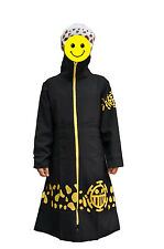Cosplay Costume Anime One Piece Surgeon of Death Trafalgar Law Long Cloak suit