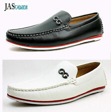 Mens Designer Loafers Slip On Boat Deck Driving Casual Shoes Moccasins Size