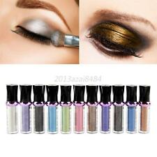 Makeup Glitter Pigment Powder Cosmetic Shimmer Eye Shadow Eyeshadow 11 Colors