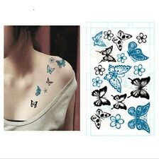 6 Styles Sexy DIY Fashion Body Art Waterproof Elegant Temporary Tattoo Sticker