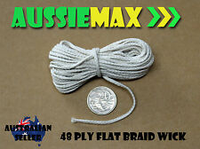 48 Ply 100% Natural Cotton Candle Wick Various Lengths