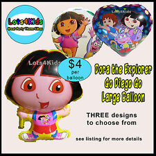 DORA THE EXPLORER BOOTS GO DIEGO GO PARTY BALLOON - PARTY SUPPLIES - ONE BALLOON