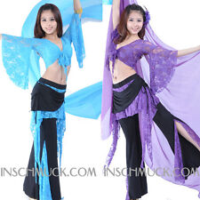 C91804 Belly Dance Costume 2 Pieces Top + Trousers Belly Dance