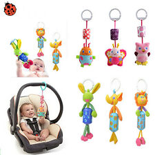 Babys Infants Rattles Plush Animal Stroller Music Hanging Bell Toy Doll Soft Bed